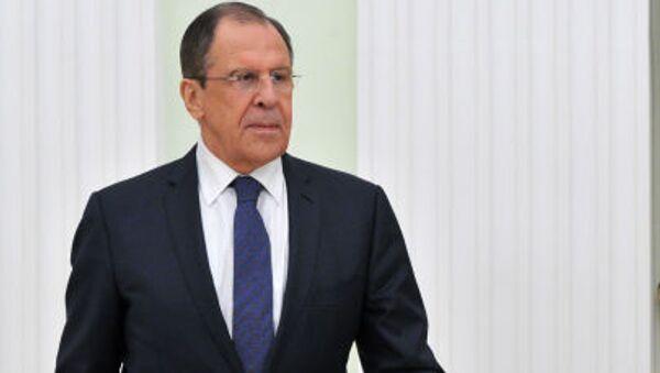 Ministro degli Esteri Sergej Lavrov - Sputnik Italia