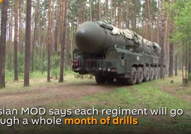 Esercitazioni delle Forze Missilistiche Strategiche della Federazione Russa