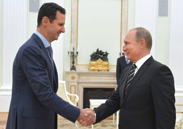 Vladimir Putin e Bashar al-Assad