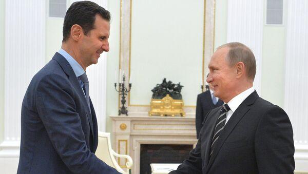 Vladimir Putin e Bashar al-Assad - Sputnik Italia