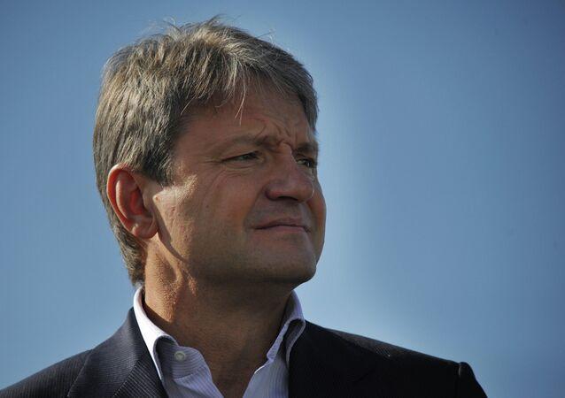 Ministro dell'Agricoltura Alexander Tkachev (foto d'archivio)
