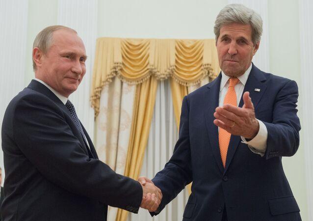 Incontro tra Putin e Kerry a Mosca