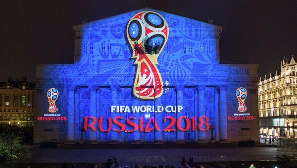 Emblema Mondiali di calcio 2018 in Russia - Sputnik Italia