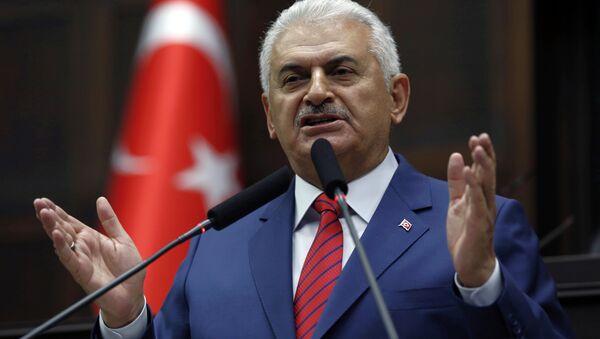 Primo ministro della Turchia Binali Yildirim - Sputnik Italia