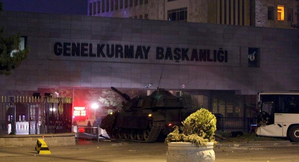 Tentato Colpo di stato in  Turchia