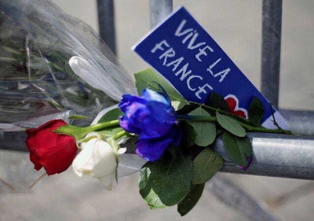 Commemorazione delle vittime dell'attentato a Nizza