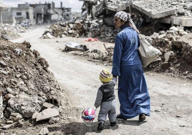 Donna siriana