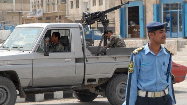 Poliziotti yemeniti nella città di Mukalla - Sputnik Italia