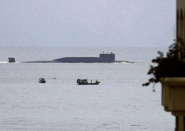 Sottomarino cinese (foto d'archivio)