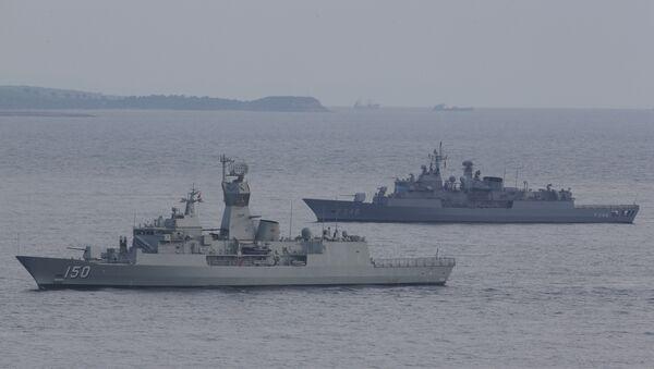Turkish navy ships. File photo - Sputnik Italia