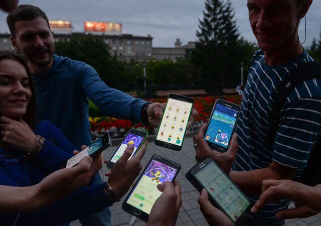 Giocatori di Pokemon Go