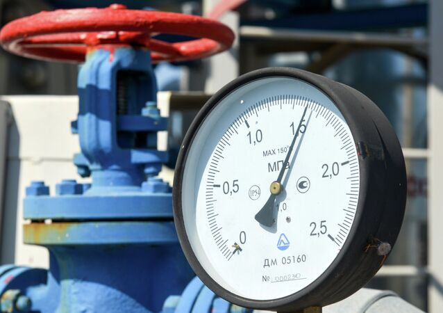 Stazione del gas in Ucraina (Naftogaz)