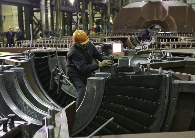 Nuovo reattore in costruzione