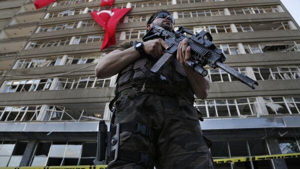 Agente delle forze speciali turchi - Sputnik Italia