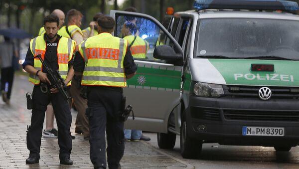 Munich Police During Shooting - Sputnik Italia