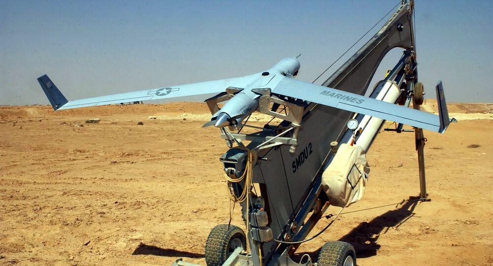 Drone ScanEagle (foto d'archivio)
