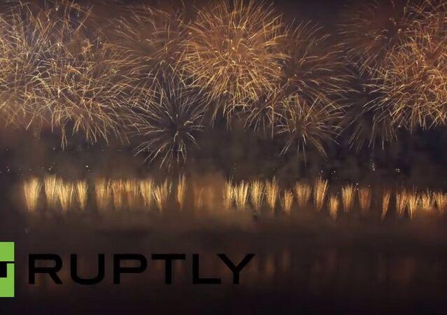 Fuochi d`artificio