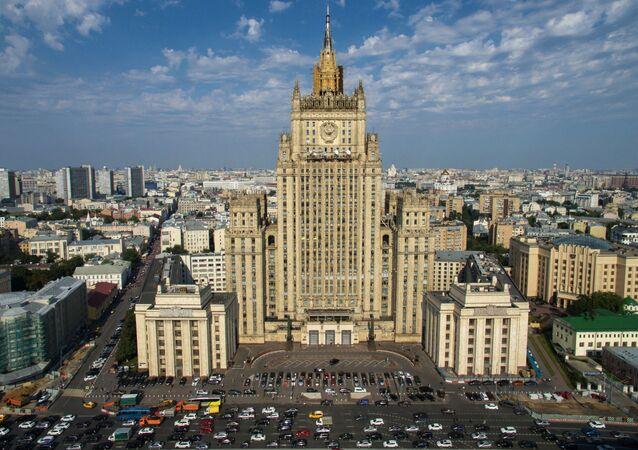 La sede del ministero degli Esteri russo a Mosca.