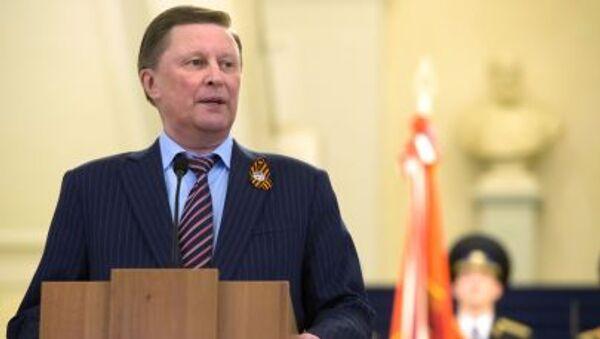 Sergey Ivanov, capo di Amministrazione del Presidente della Russia - Sputnik Italia