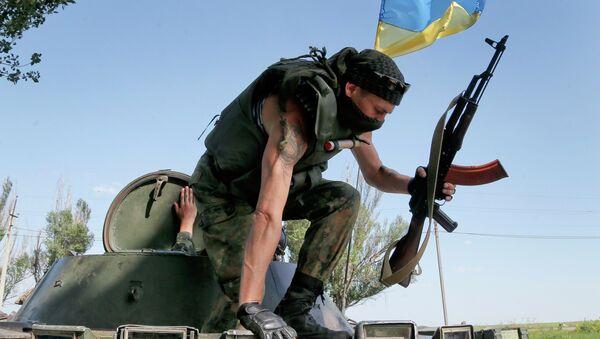 Paramilitare ucraino ad Odessa - Sputnik Italia