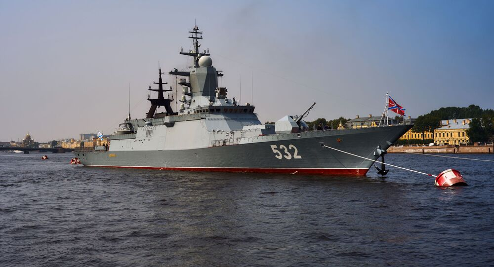 Corvetta della marina russa
