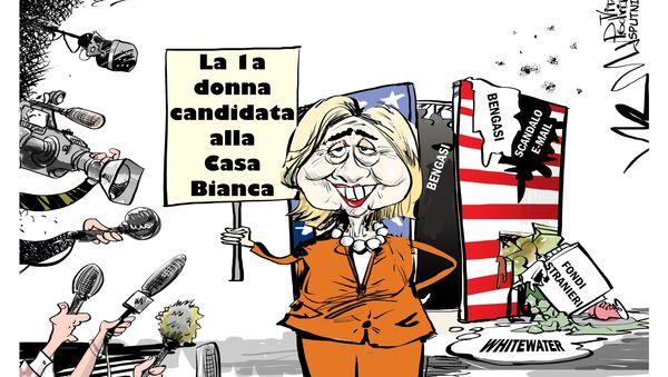 Hillary - Sputnik Italia