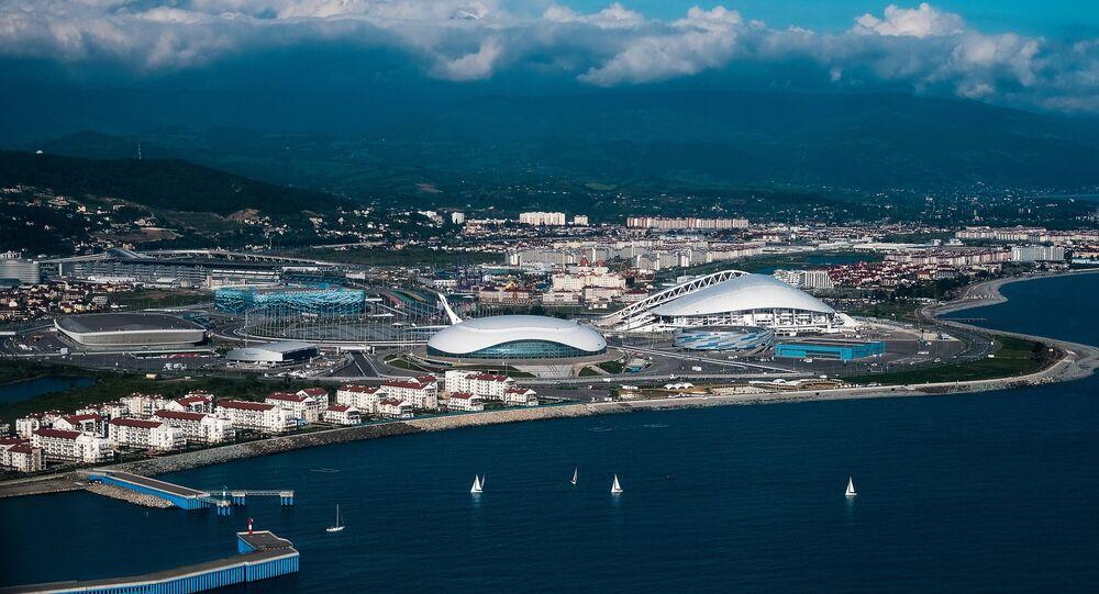 Una vista di Sochi