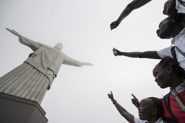 Nazionale senza patria: squadra di profughi per esibirsi alle Olimpiadi. - Sputnik Italia