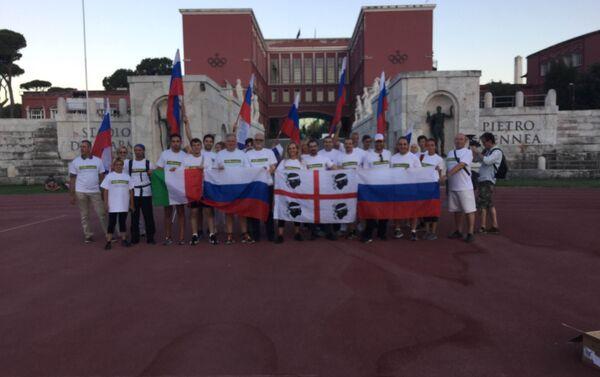 La corsa di solidarietà per gli atleti russi - Sputnik Italia