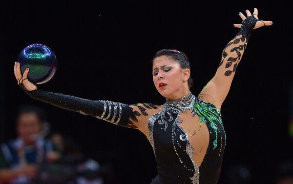 La ginnasta americana Julie Zatlin - Sputnik Italia