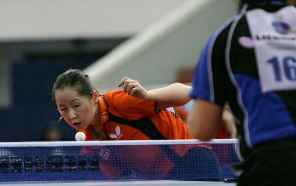 L'atleta olandese del ping pong Li Chao - Sputnik Italia