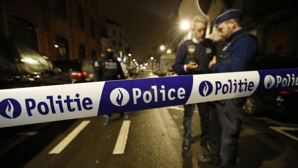Agenti di polizia in Belgio - Sputnik Italia