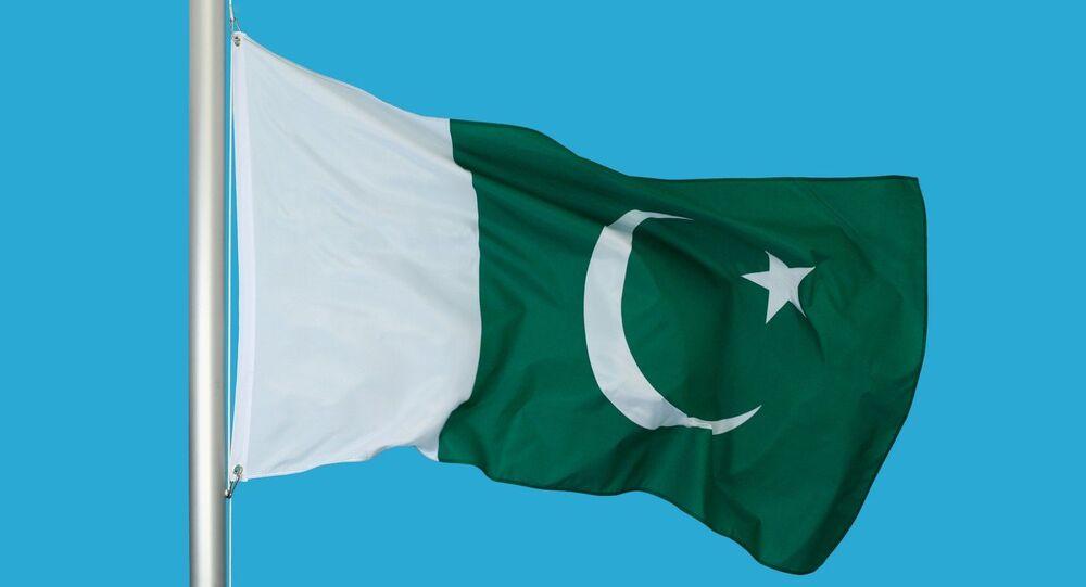 La bandiera del Pakistan