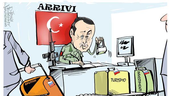 Erdogan e Sputnik - Sputnik Italia