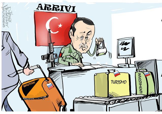 Erdogan e Sputnik