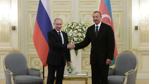Vladimir Putin e Ilham Aliyev - Sputnik Italia