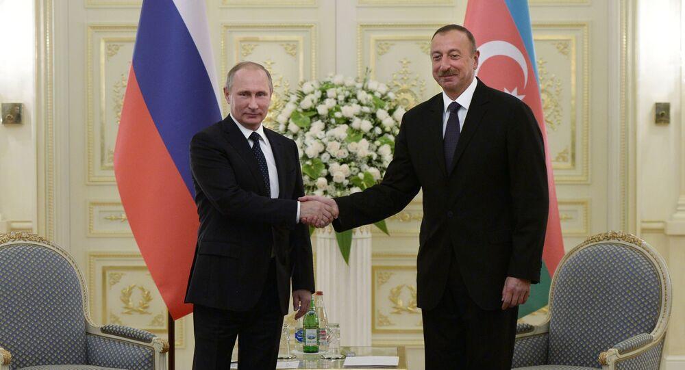 Presidenti di Russia e Azerbaigian