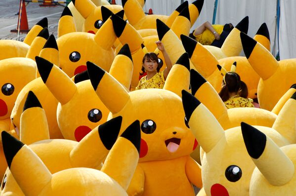 Parata di Pokemon in Giappone. - Sputnik Italia