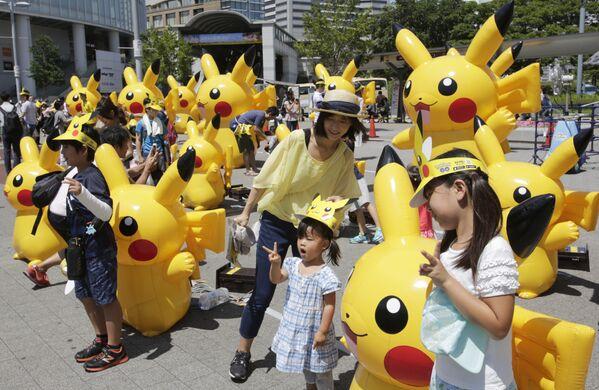 Pokemon on Parade: Japan Hosts Procession of Pikachus - Sputnik Italia