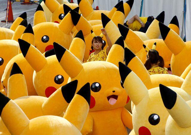 Parata di Pokemon in Giappone.