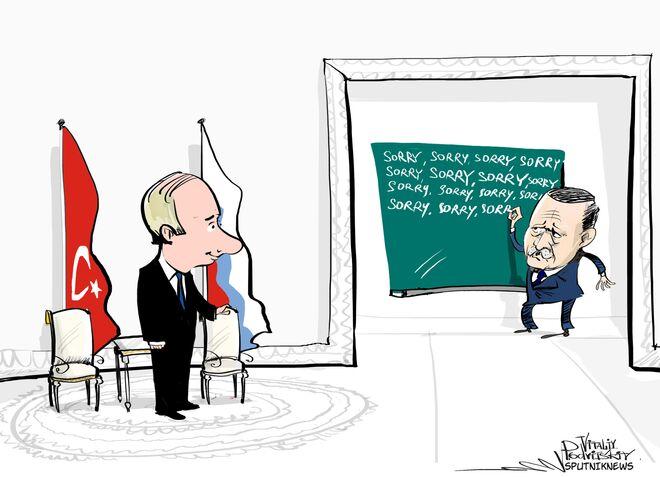 La sintesi dell'incontro Putin-Erdogan