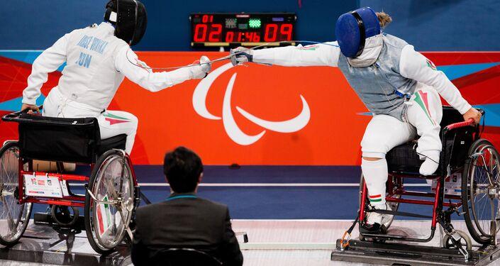 Scherma alle paralimpiadi di Londra 2012