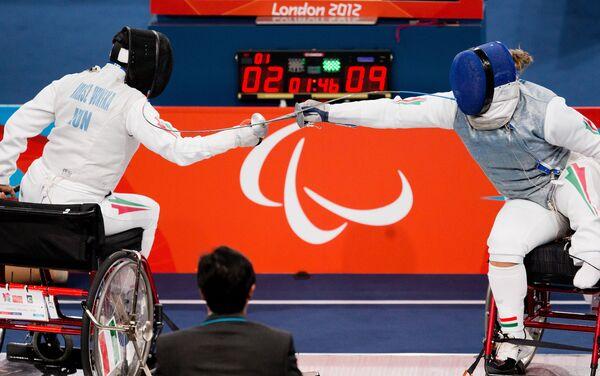 Scherma alle paralimpiadi di Londra 2012 - Sputnik Italia