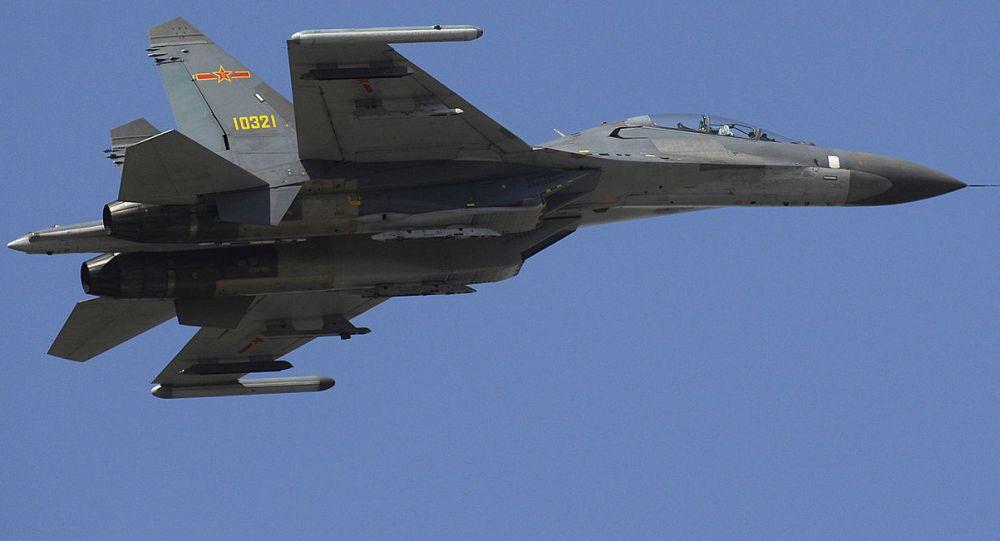 Caccia J-11 dell'aeronautica militare cinese