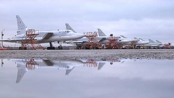 Tupolev Tu-22M3 russi alla base Hmeimim in Siria - Sputnik Italia