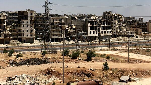 Macerie ad Aleppo - Sputnik Italia