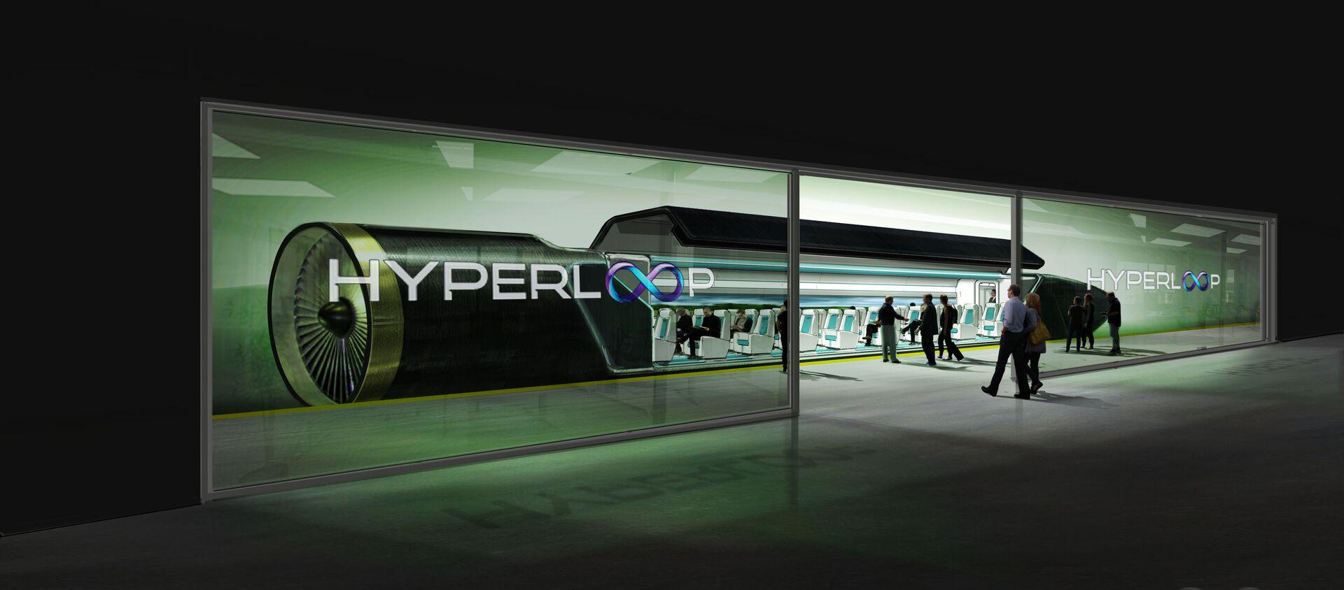 Hyperloop - Sputnik Italia, 1920, 30.07.2019