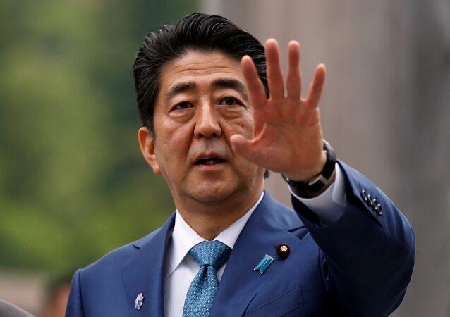 Il premier del Giappone Shinzo Abe