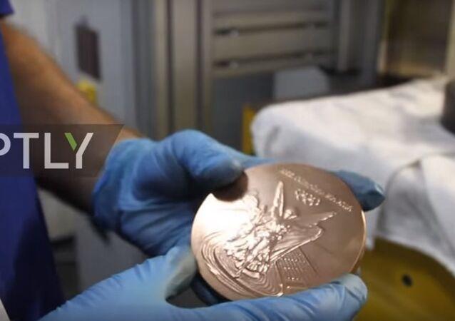 Rio 2016: come si fanno le medaglie olimpiche