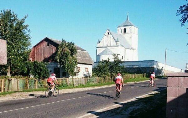 Ride to Moscow, un tratto di strada in Polonia - Sputnik Italia